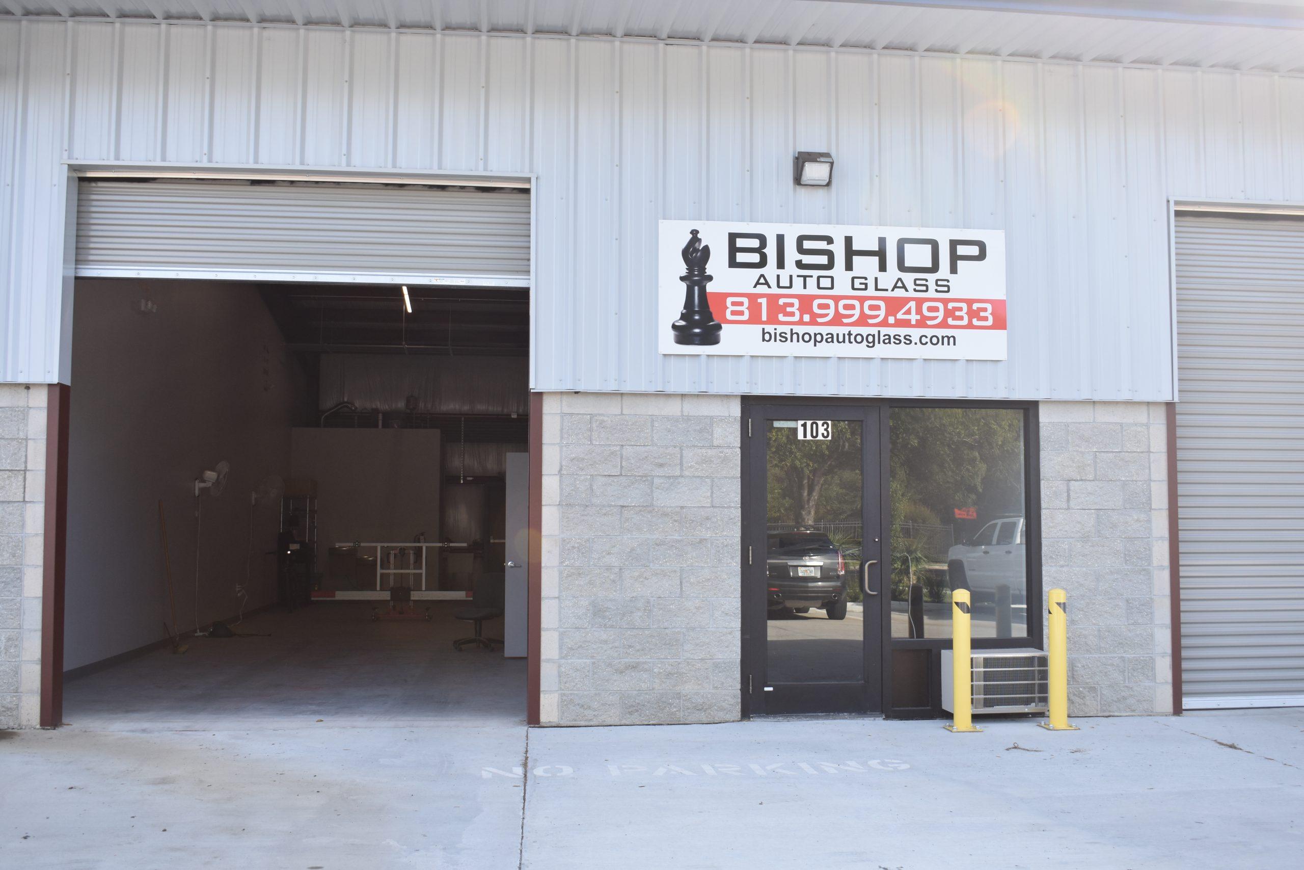 Bishop Auto Glass Tampa shop